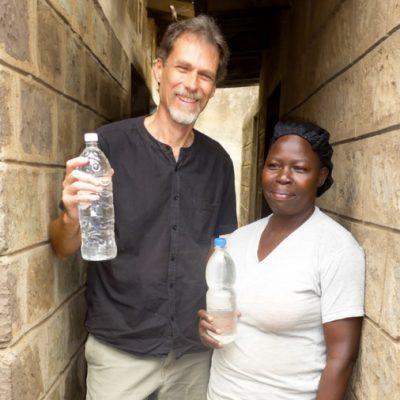 Doug Graber Neufeld and Susan Waka