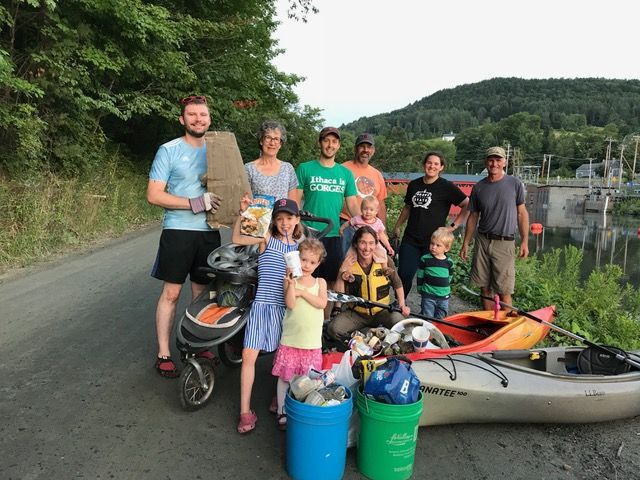 River clean-up group