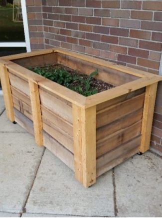 soil box for use in children's times